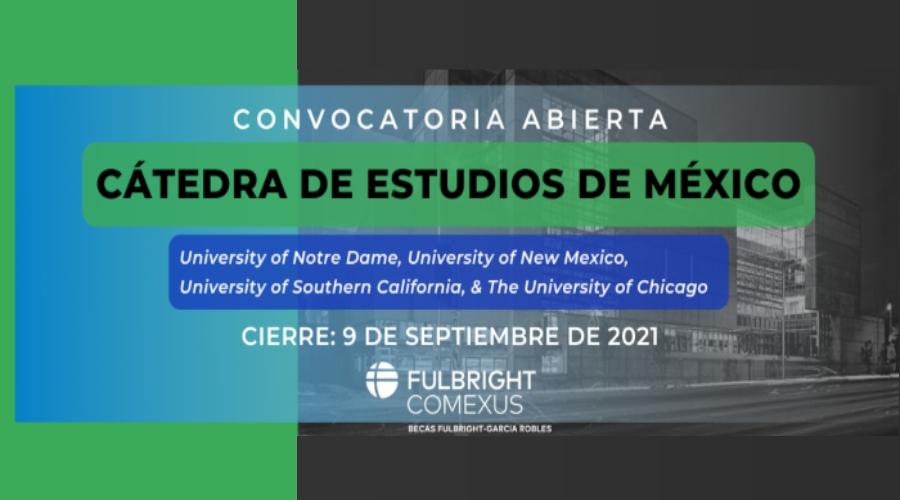 Convocatoria Fullbright COMEXUS 2021