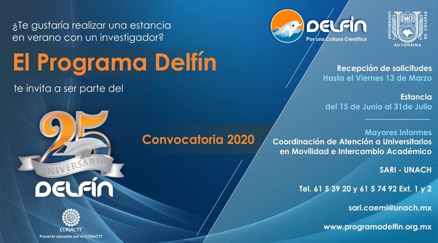 Convocatoria Programa Delfín 2018