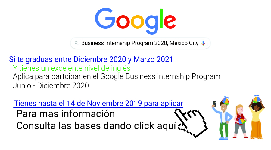 Business Internship Program de Google México