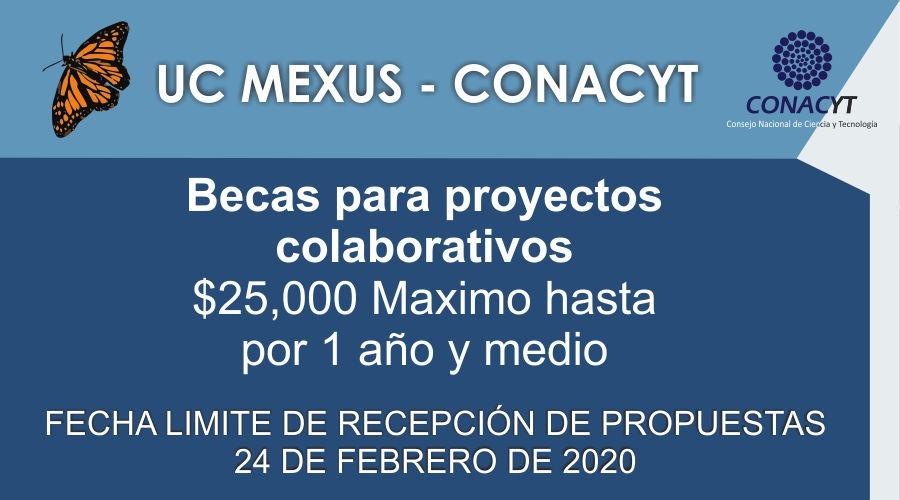 UC MEXUS Proyectos de colaboración