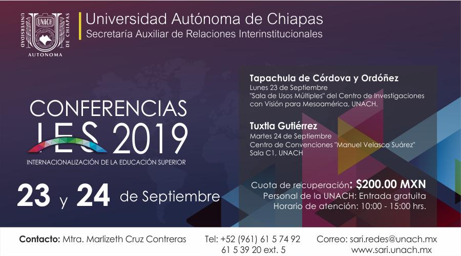 Conferencia IES 2019